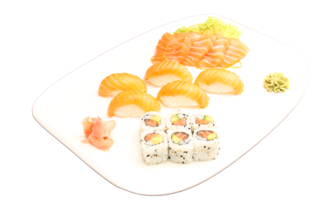 plateau roll+sushis